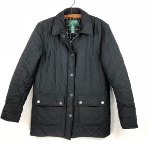 Lauren Ralph Lauren Quilted Jacket. S. Black